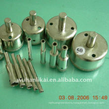 Electroplated diamond core concrete drill bit