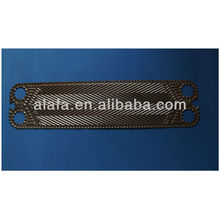 Vicarb 20 related titanium plate for heat exchanger