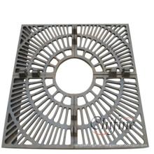 Kundengebundener Metallbaum-Schutzgitter mit Roheisen
