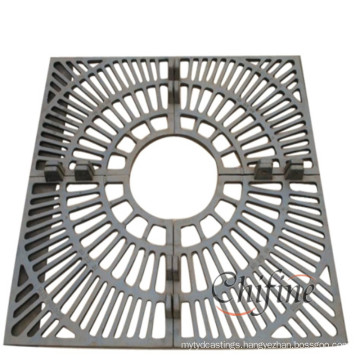 Customized Metal Tree Protection Grate with Cast Iron