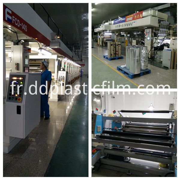 transparent PET releasing liner release film our machine