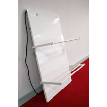 White Carbon Crystal Heater Panel with Thermostat