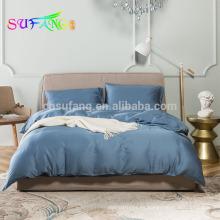 2018 último diseño juego de cama de 100% tencel / conjunto de funda de edredón