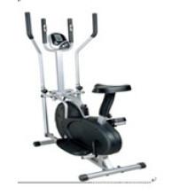 Indoor Fitness Bike Magnetic aufrecht Übung Fahrrad Home Trainer, elliptische Maschine, Fan Heimtrainer (Uslf-02n)