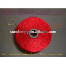 fil de filaments de viscose gâteau brillant blanc cru teint 120D / 30F