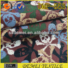 China Stoff Markt billig Großhandel dekorative Kissen Stoff Skull print