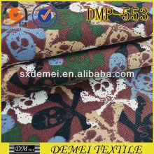 crâne de tissu bon marché en gros coussins imprimé de Chine tissu marché