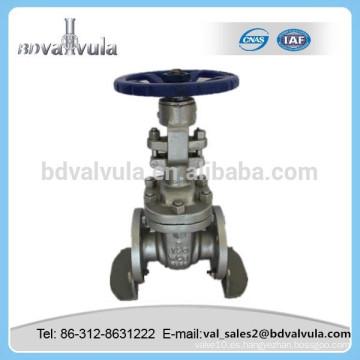 Válvula de compuerta ANSI manual Válvula de compuerta ANSI de acero al carbono