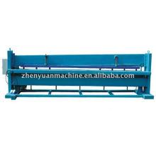 Máquina de corte hidráulico de metal