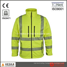 Safety Knitted Heat Transfer Tape Hivis Broken Tape Softshell