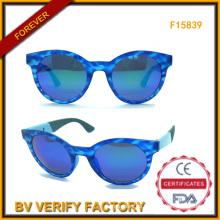 Kategorie Design hohe Qualität Frauen Sungalsses mit blauer Scheibe (F15839)