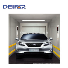 Best large car elevator with geared traction from Delfar car lift