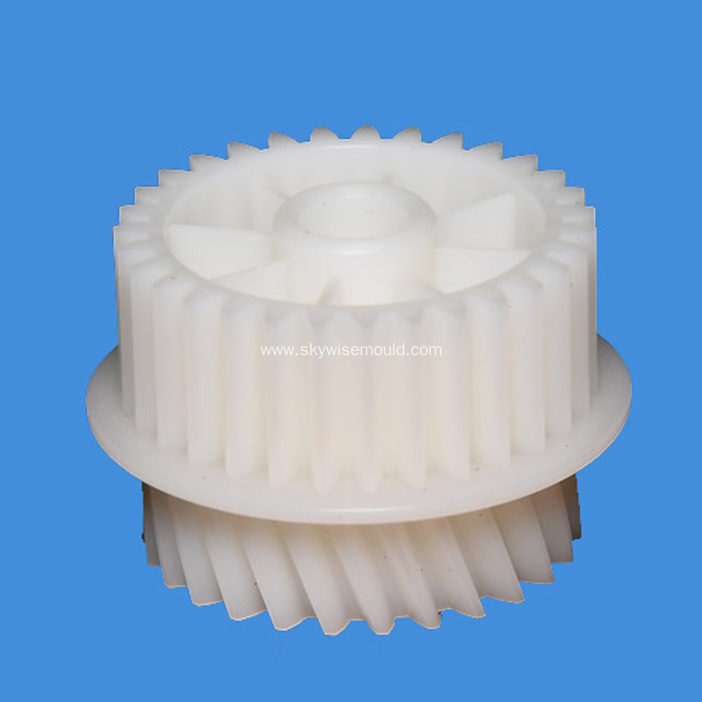 Double Spur Gear Plastic Injection Mould