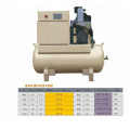 precios de la máquina del compresor conducido directo industrial del aire con el tanque