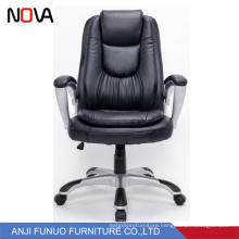 Most comfortable luxury leather rotating executive office staff chair for sale