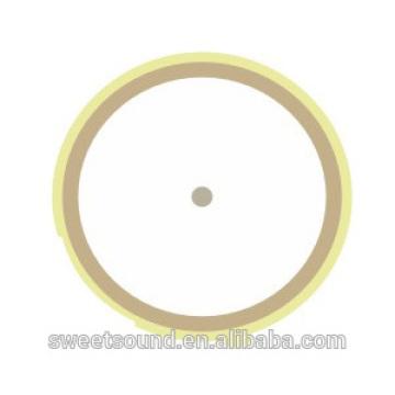 Großhandel Piezo Keramik Element rund 5khz 21mm Piezo elektrische Keramik