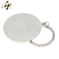Gros alliage coulé personnalisé argent sport logo métal peinture trousseau
