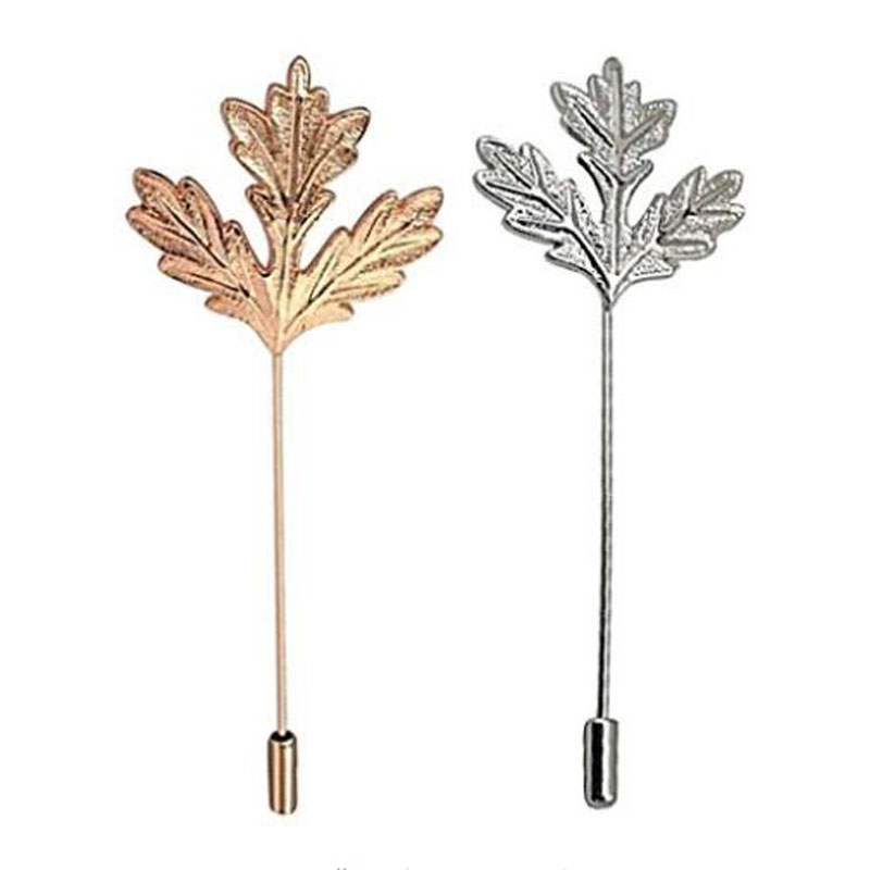 Maple Leaf Brooch Pins