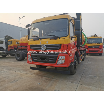 Dongfeng fecal 12cbm vacuum pump suction sewage truck