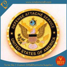 Custom 2D Exquisite National Emblem Emaille Souvenir Münzen (LN-081)