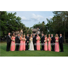 Hot Sale A-line Floor Length Chiffon 2014 Sweetheart Wedding Guest Dress Alibaba Patterns For Bridesmaid Dresses DB106