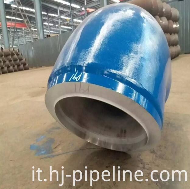 A234 WP91 butt weld pipe elbow