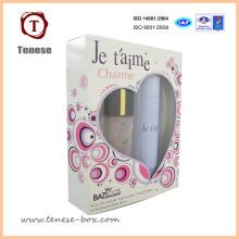 Caixa de presente de embalagem de perfume de papelão de luxo