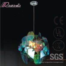 European Hotel Decorative PC Slice Round Pendant Lamp