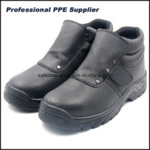 Hight Cut Men′s Welder Safety Shoes with Steel Toe