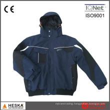 Custom Durable Mechanic Winter Padding Bomber Jacket Us Navy Work Jacket