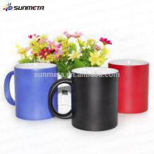sublimation colour change mug, high quality ceramic mug factory direct supply