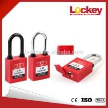 Safety Lockout 38mm plastic Shackle Dustproof Padlock