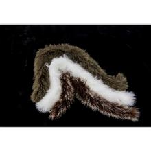 Bufanda mongolian de la piel rizada del cordero del pelo largo al por mayor