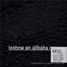 Wholesale high quality cotton rayon blended fake fur fabric for coat