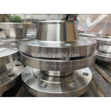 254SMO ASTM A182 S31254 F44 Flange yang Ditempa