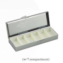 Caja de almacenaje del metal de la alta calidad para la píldora (BOX-35)