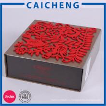 Новые коробки mooncake дизайн сладкий картонную коробку с вставкой