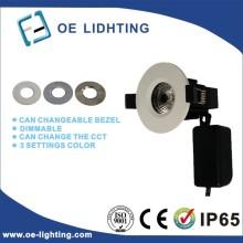 Cortafuego de calidad 3 Color configuración COB LED abajo luz
