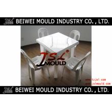 Personalizar o molde / molde para mesa de jantar de plástico doméstico ou ao ar livre