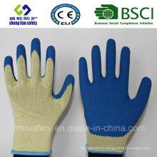 10g Kevlar Liner avec Smart Grip Latex Coating Work Gloves
