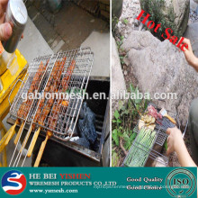 Hot sale stainless steel barbecue wire mesh /stainless steel BBQ grill Anping factory