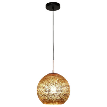 Suspension moderne en verre de style nordique