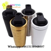 Shaker Bottle Stainless Steel Shaker Bottle Protein Shaker Bottle Gym Building Shaker