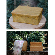 (BC-ST1039) Hot-Sell Fashionable Durable Handcraft Natural Straw Basket