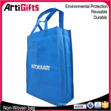 Hot sale laminated non woven shopper bag