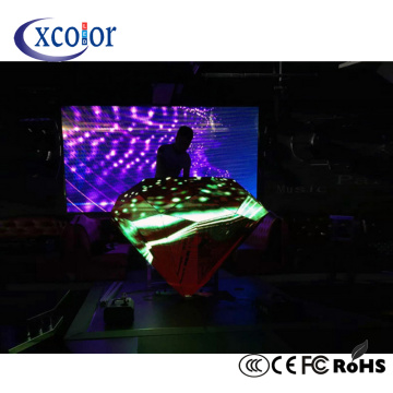 Display a LED per palcoscenico P4 DJ