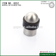 stainless steel& rubber round head door guard gate stop