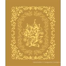 Couverture en polyester de conception turque