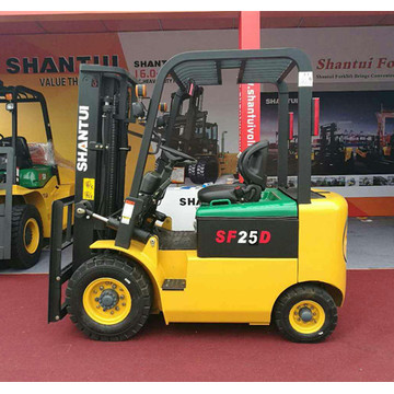 2.5 Ton Electric Forklift Truck dengan Low Noise