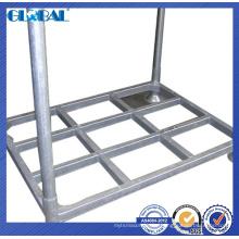 Estructura de tubo de acero del estante apilador para almacenamiento en almacén